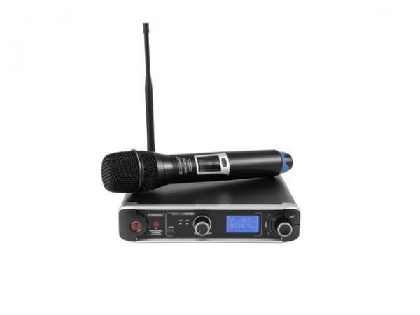 OMNITRONIC UHF-301 1-Kanal-Funkmikrofonsystem 823-832/863-865MHz