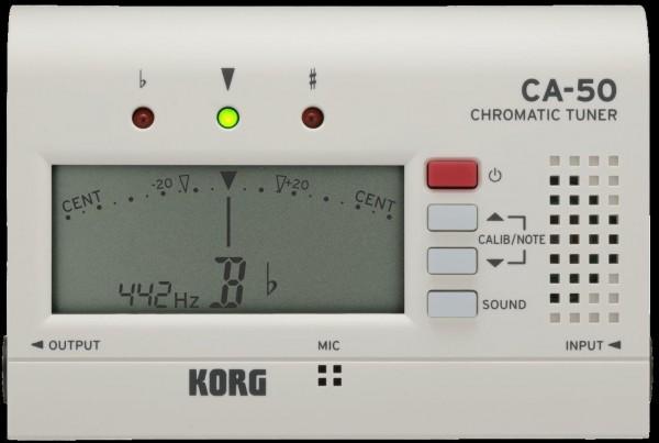 KORG Stimmgerät, CA-50, weiß