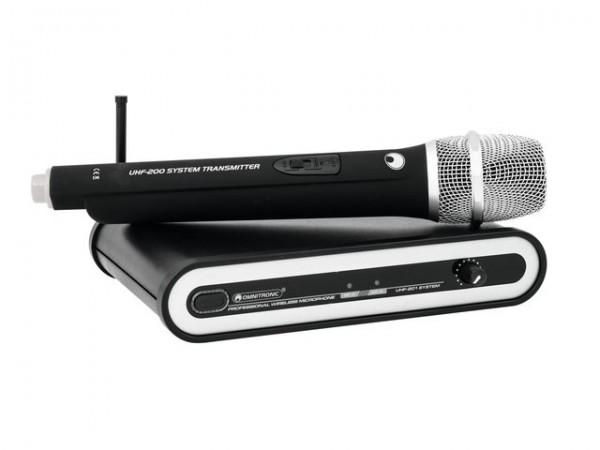 OMNITRONIC UHF-201 Funkmikrofon-System 828.250MHz