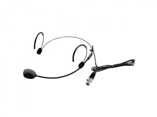 OMNITRONIC UHF-300 Kopfb?Ã?¼gelmikrofon schwarz