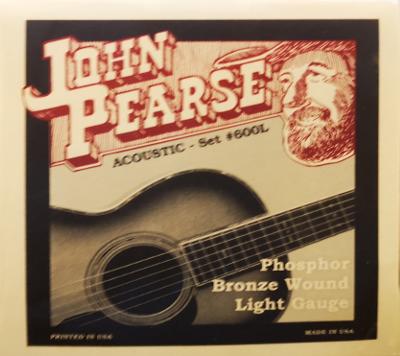 JOHN PEARSE W-GIT SATZ 600L .012-.053