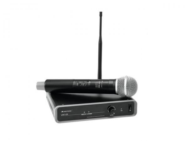 OMNITRONIC UHF-101 Funkmikrofon-System 864.1MHz
