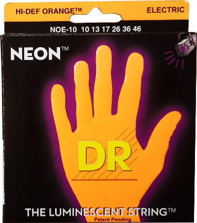 DR Strings Neon Orange