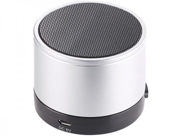 Auwisio Mobiler Bluetooth Speaker, Akku