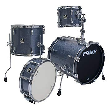 Sonor Safari Shell Set SSE-10, Black Galaxy Sparkle