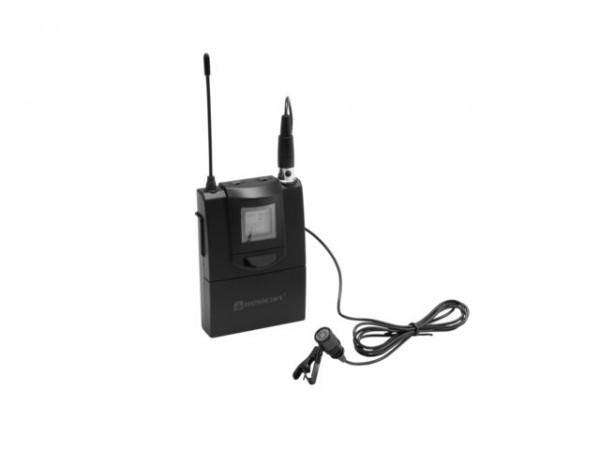 RELACART ET-60 Bodypack mit Lavalier-Mikrofon f?Ã?¼r WAM-402