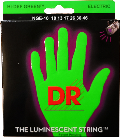 DR Strings Neon Green