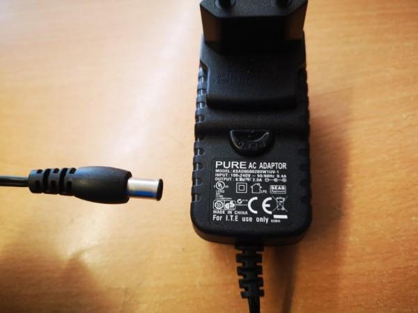 Netzteil 6V DC, 2000mA