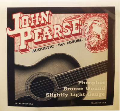 JOHN PEARSE W-GIT SATZ 550SL .011-.050