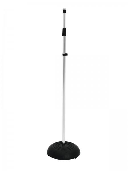 OMNITRONIC Mikrofonstativ 85-157cm sil