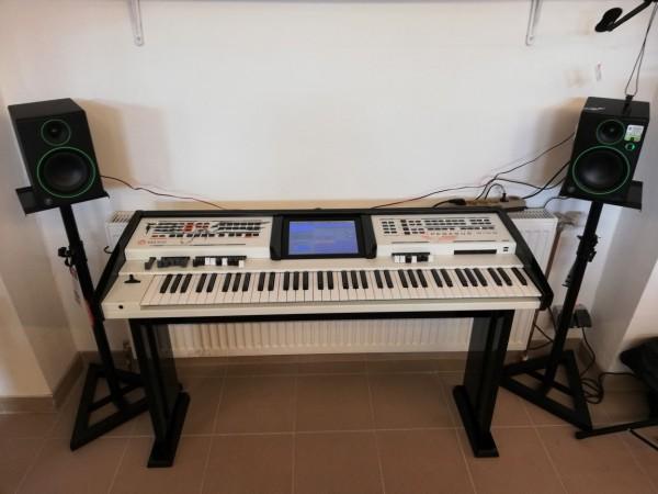Wersi Pegasus Wing Orgel, inkl. edlem Hochglanz-Unterteil, wie neu