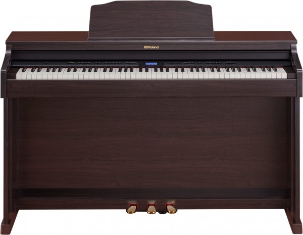 Roland HP-601 Digital Piano, Bluetooth, Rosewood