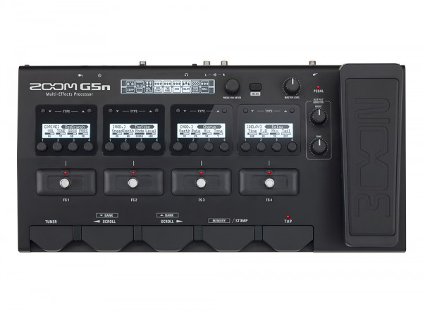 Zoom G5n Intuitive Multi-Effects Processor for Guitarists