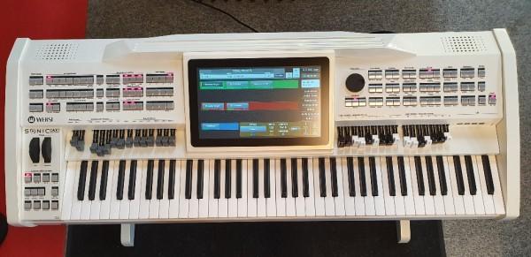 Wersi Keyboard OAX1 weiß, inkl. Untergestell, Vorführgerät, wie neu !