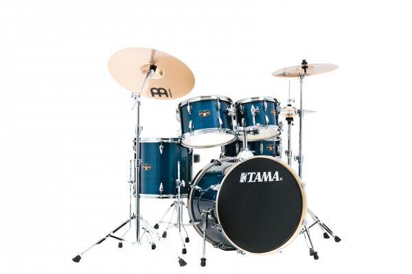 "Tama Drumset Imperialstar, 20"", Hairline Blue/Chrom Hardware"