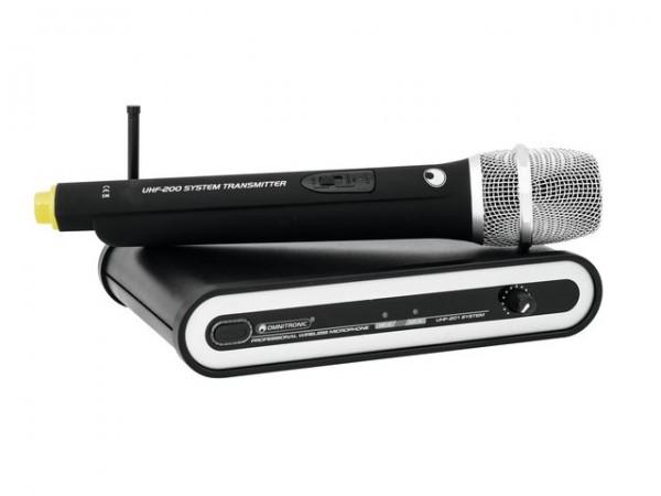 OMNITRONIC UHF-201 Funkmikrofon-System 863.420MHz
