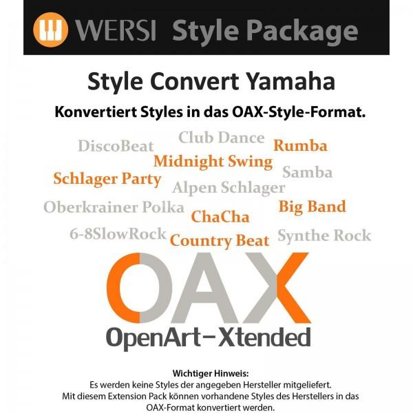 OAX Style Konvertierung Yamaha