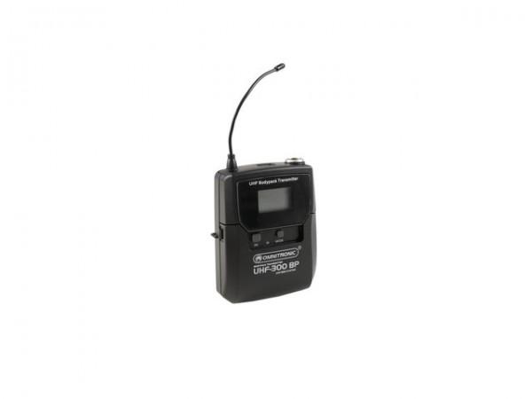 OMNITRONIC UHF-300 Taschensender 823-832/863-865MHz