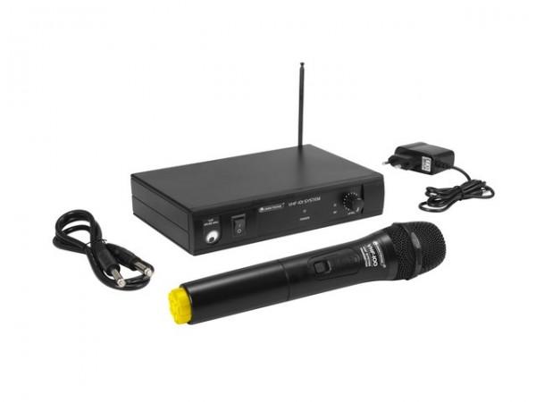 OMNITRONIC VHF-101 Funkmikrofon-System 214.35MHz