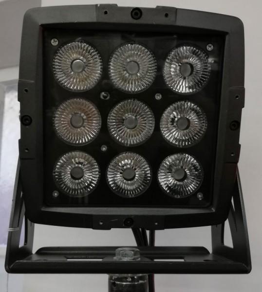 EUROLITE LED IP PAD 9x8W QCL, Vorführgerät, wie neu