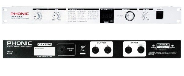 Phonic DFX-256 Signalprozessor, Vorführgerät, wie neu !