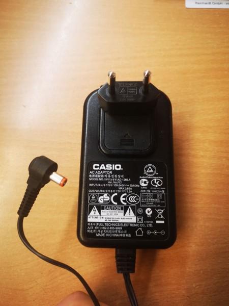 Casio Netzteil AD-12ML, 12V DC, 1,5A