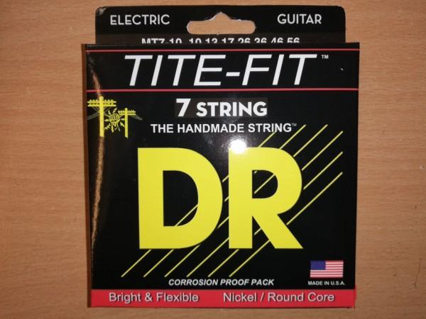 DR E-Gitarren Saitensatz 7-Saiter, 10-56