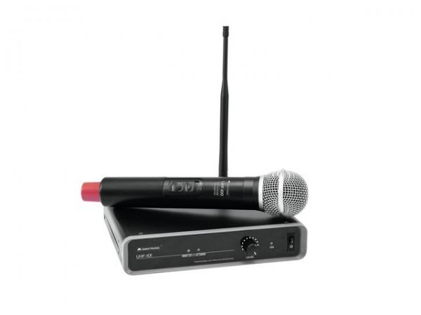 OMNITRONIC UHF-101 Funkmikrofon-System 828.1MHz