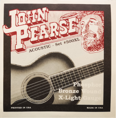 JOHN PEARSE W-GIT SATZ 500XL 010-.047