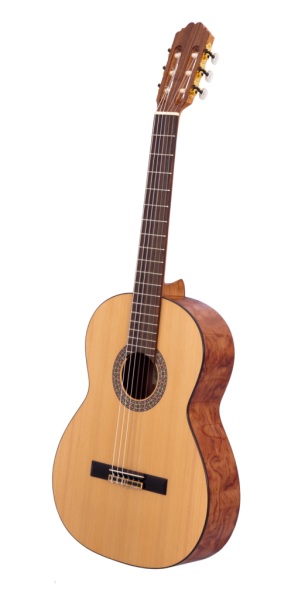 Ruben R1 Konzertgitarre, Ceder massiv, hochglanz, made in Spain