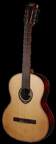 Lag Occitania 170, Konzertgitarre, Rotzeder massiv, matt lackiert