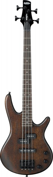 Ibanez E-Bass GSRM20B, Schülermodell, short scale, , 4-Saiter, Walnut Flat