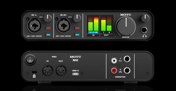 Motu M2 - 2-In/2-Out USB-Audio-Interface