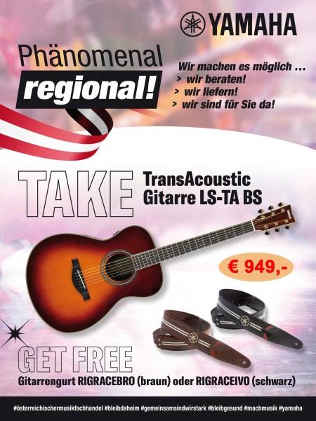 Yamaha Transacoustic LS-TA BS
