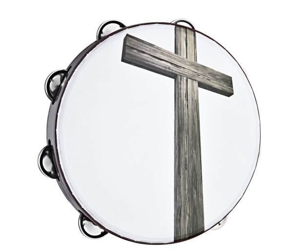 Gospel Praise & Worship Church Tambourine CHT1C