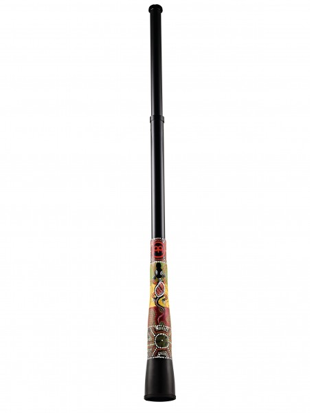 Synthetic Slide Travel Didgeridoo TSDDG2-BK