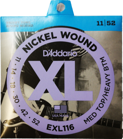 D'ADDARIO EXL 116 0.11-0.52