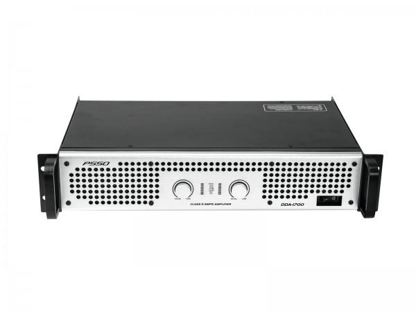 PSSO DDA-1700 Stereo-PA-Verstärker mit Schaltnetzteil, 2 x 850 W / 4 Ohm